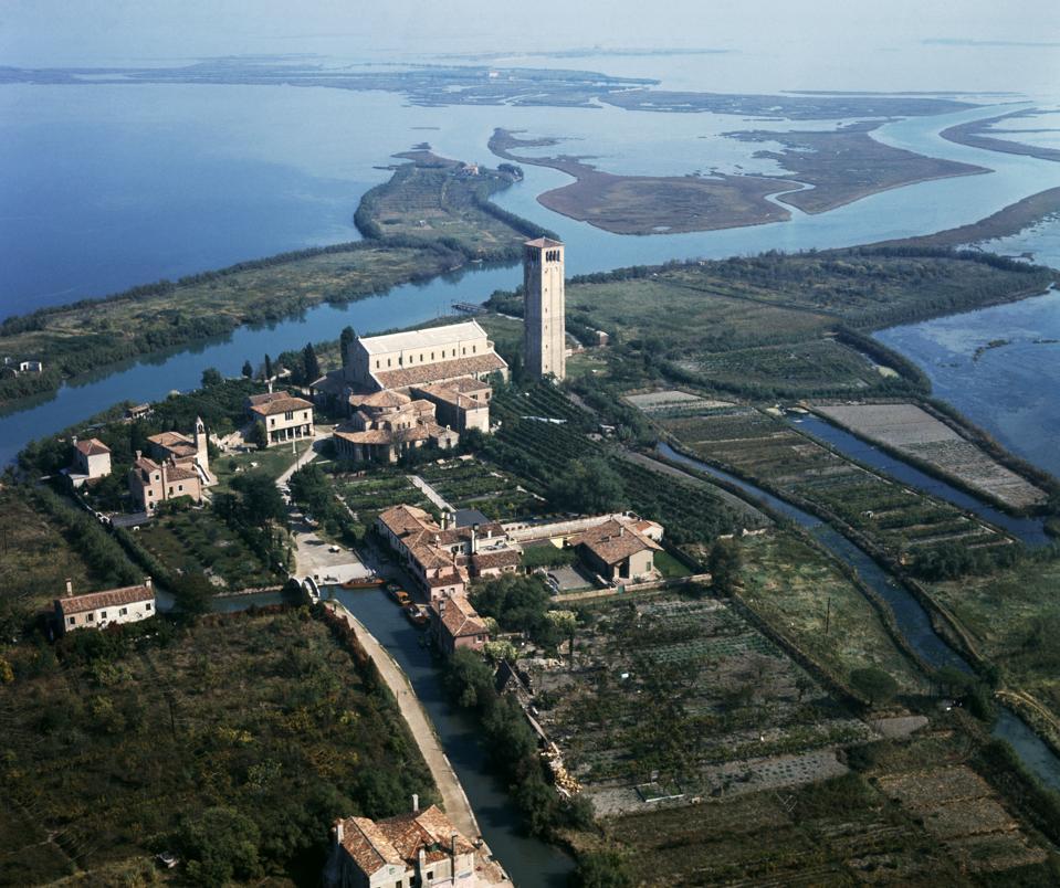Torcello Island with Basilica, Venice
