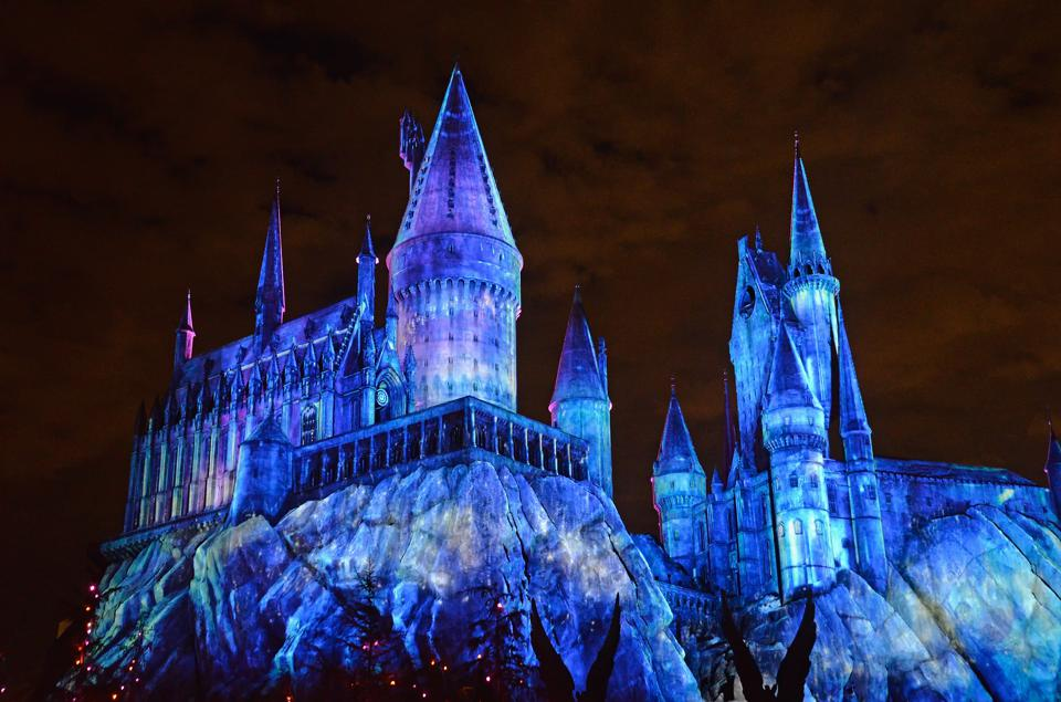 Attractions themed to Harry Potter have cast a powerful spell on Universal's parks (Michael Tullberg/Getty Images)