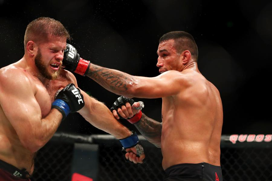 Former UFC Heavyweight Champ Fabricio Werdum Wants Title Shot After Win At UFC Fight Night 121