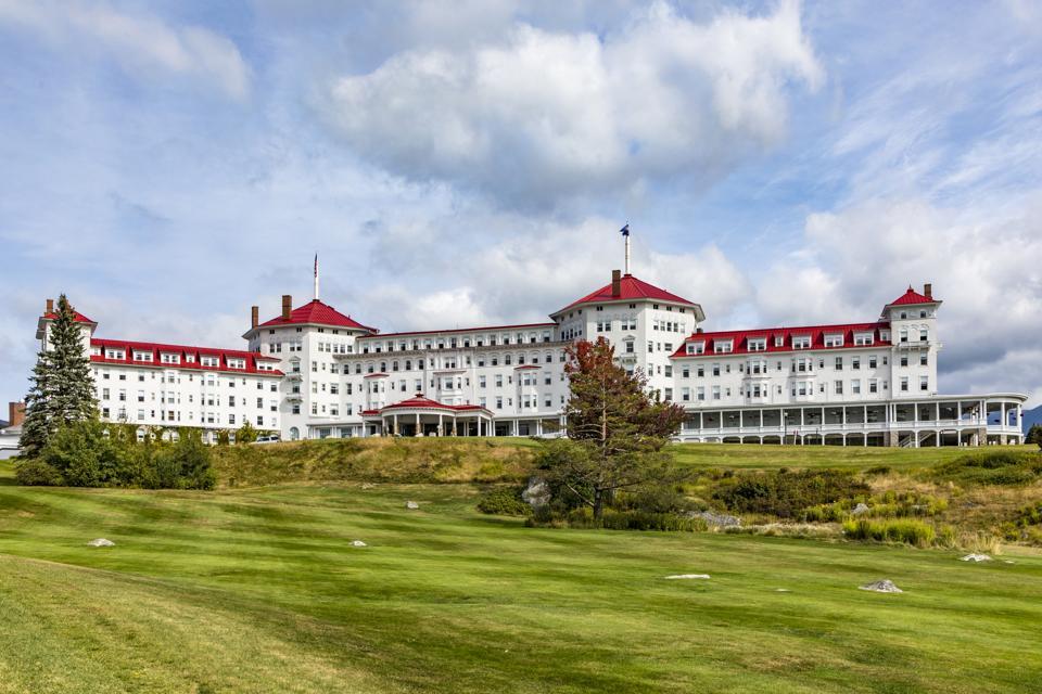 famous Mount Washington Hotel  in Jefferson in the mount washington area