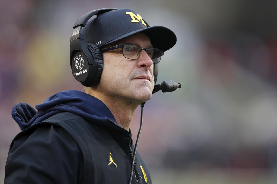 Jim Harbaugh's Recruiting Recipe Combines Personal Experience, Michigan's Standard For Cleanliness