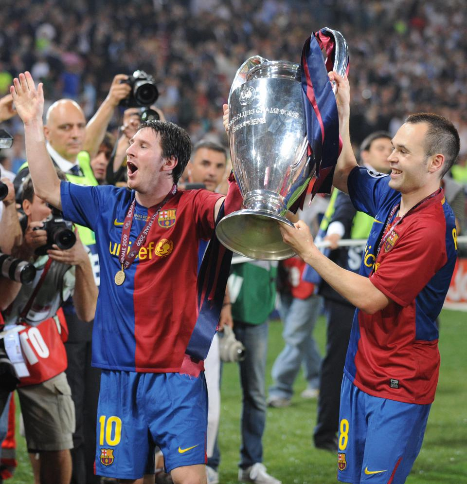 Remembering Lionel Messi's Champions League Debut For FC Barcelona