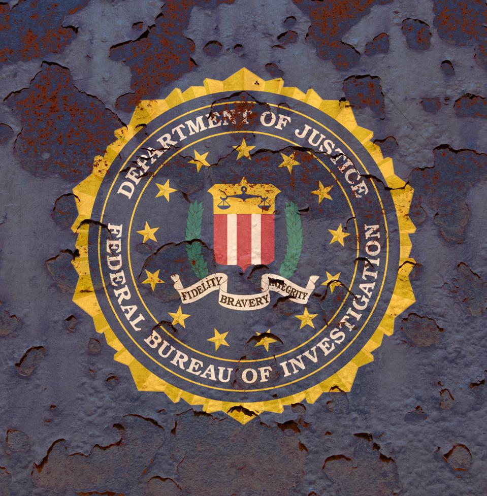 Flag of the Federal Bureau of Investigation