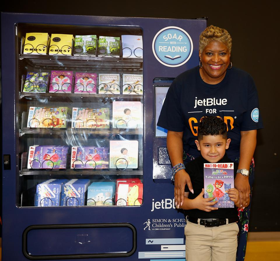 JetBlue For Good Soar With Reading Event - Houston