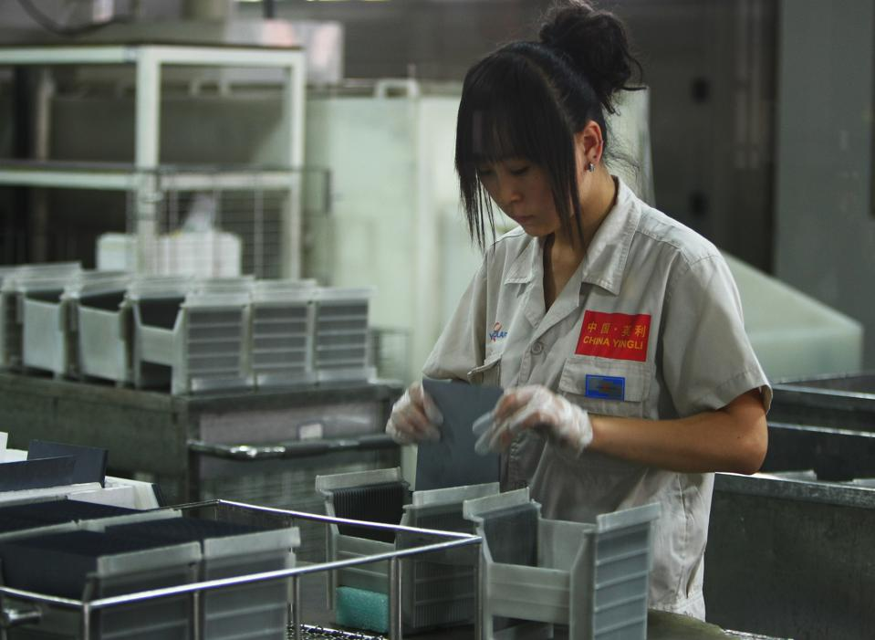 China Develops New Energy Industries