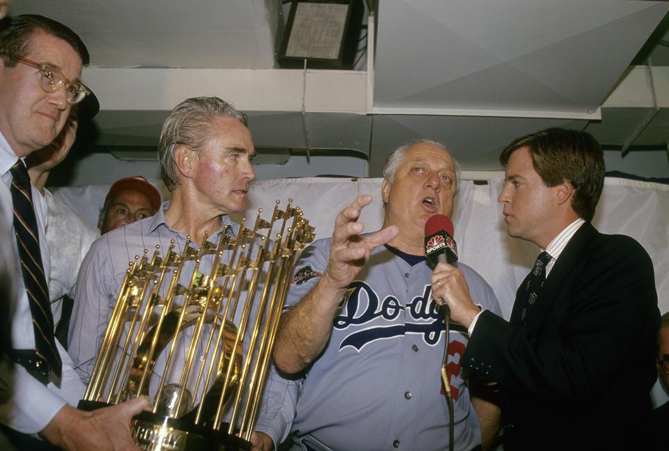 World Series:Oakland Athletics v Los Angeles Dodgers, Octobe 20, 1988