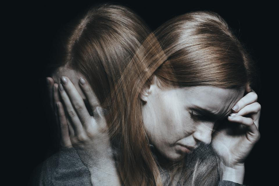 Female with mood disorder