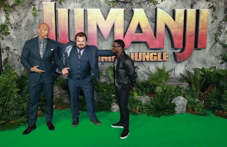 Jumanji: Welcome To The Jungle UK Premiere - Red Carpet Arrivals