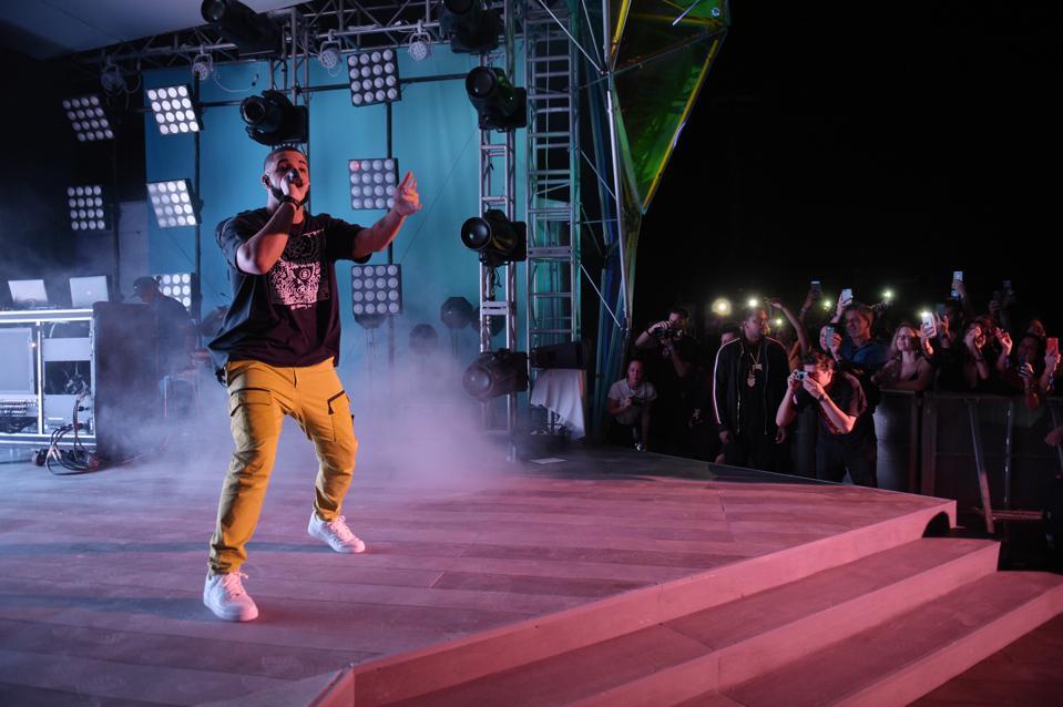 Drake & Virgil Abloh Celebrate Miami Art Week At The American Express Platinum House At The Miami Beach EDITION