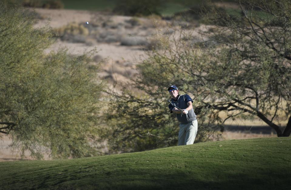 Golf in Chandler, Arizona.