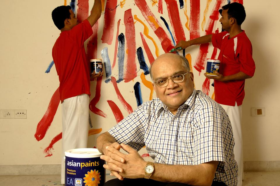 Ashwin Dani, Vice- Chairman and Managing Director, Asian Paints, poses at his office, in Mumbai, India. Potrait, Sitting