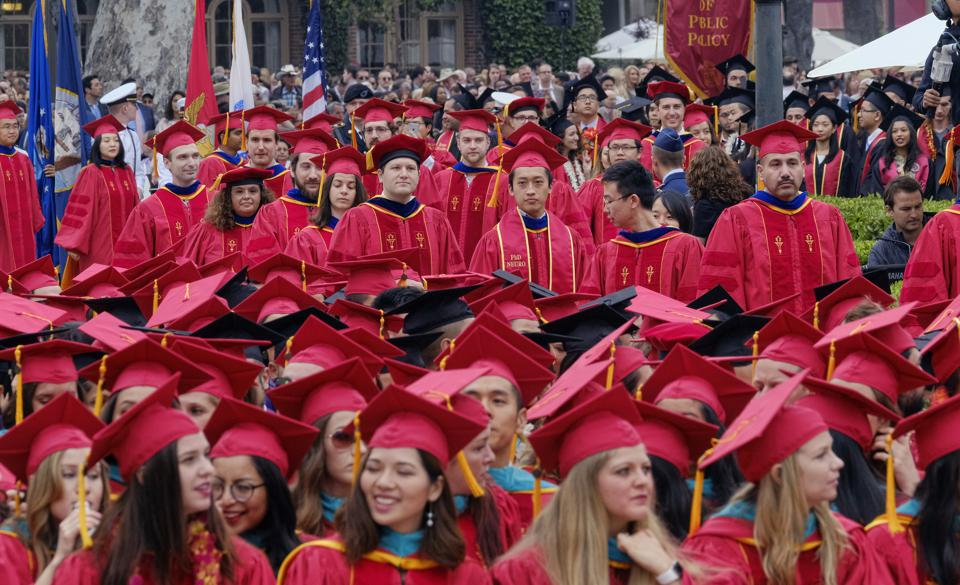 University of Southern California commencement