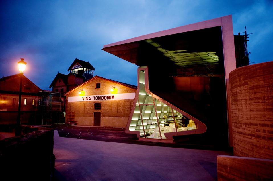 ″Vina Tondonia″ Winery. La Rioja. Showroom designed by Zaha Hadid.