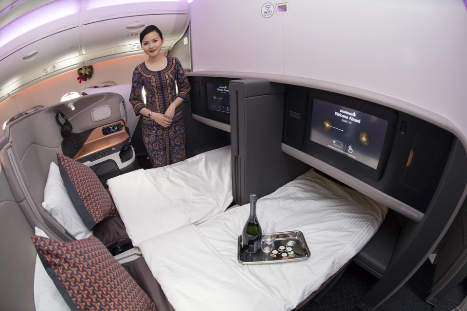 Singapore Airlines New A380 Launch