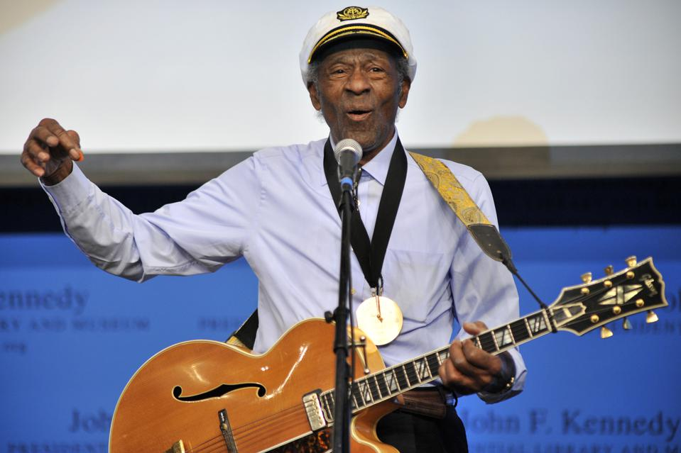 Chuck Berry's Posthumous New Album Now Has A Single And A Release Date
