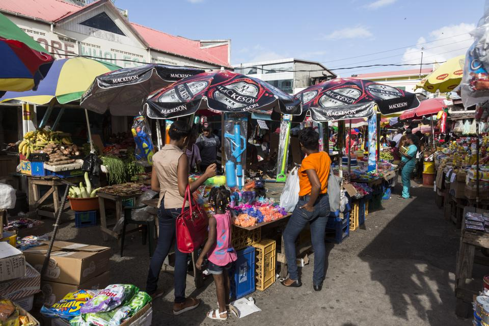 The Stabroek Market was officially chartered in 1842, but a market had existed in that location much earlier