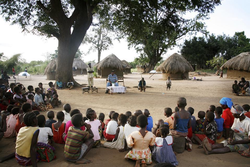 charity Zambia philanthropy travel