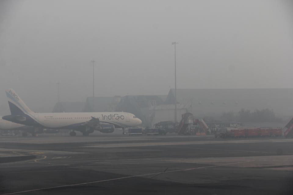 Fog at Delhi