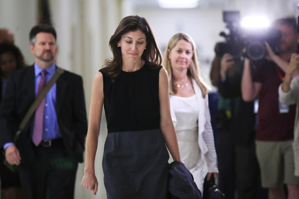 Has Lisa Page Inherited The Mantle From Monica Lewinsky?