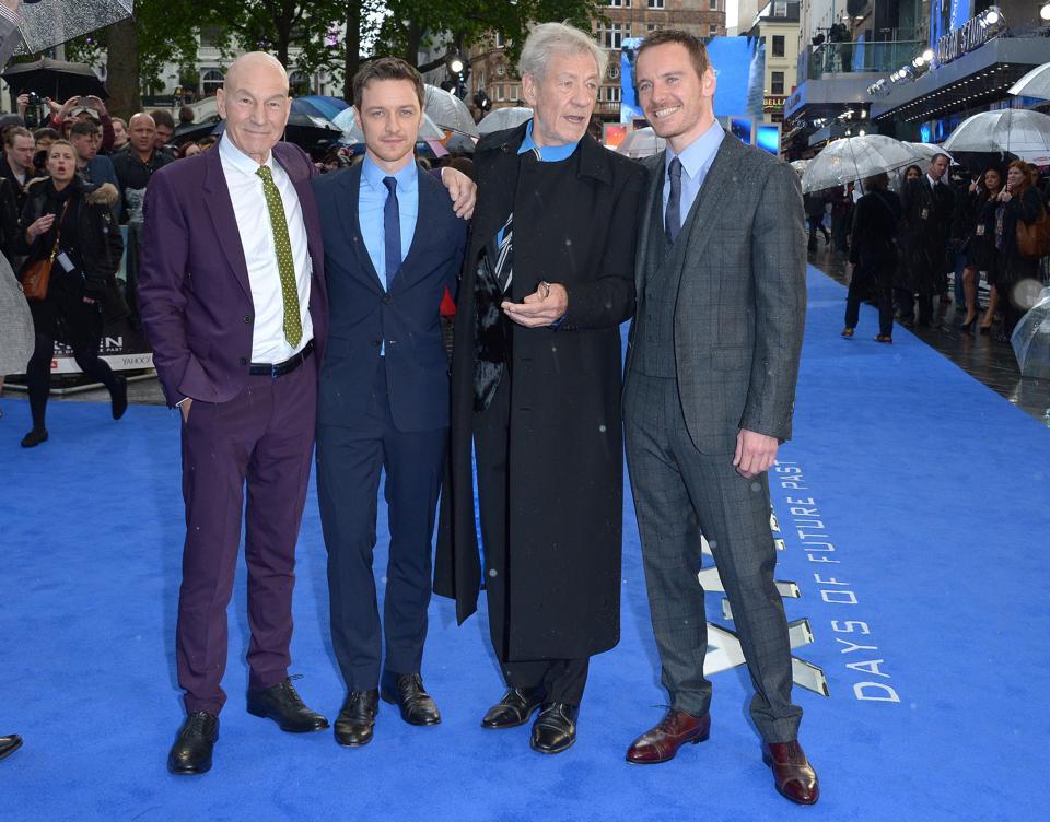 Britain X-Men Days Of Future Past Premiere