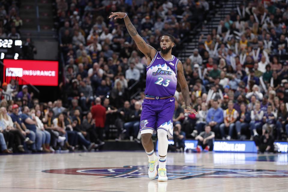 Trail Blazers Jazz Basketball