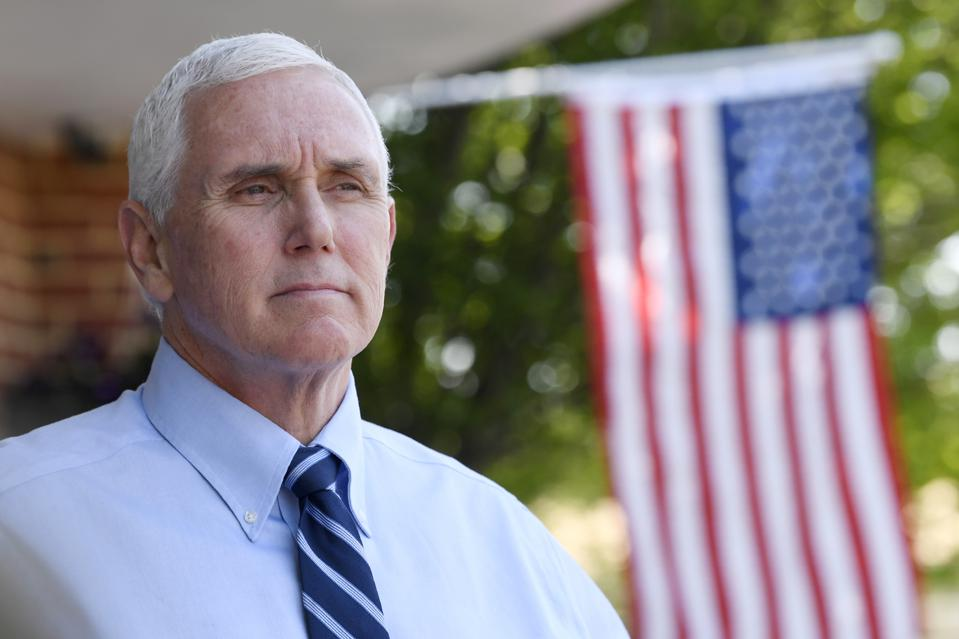 Mike Pense considers options during the Virus Outbreak