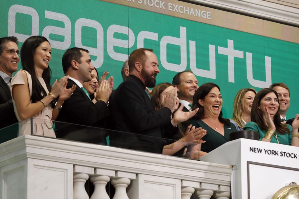 Financial Markets Wall Street PagerDuty IPO