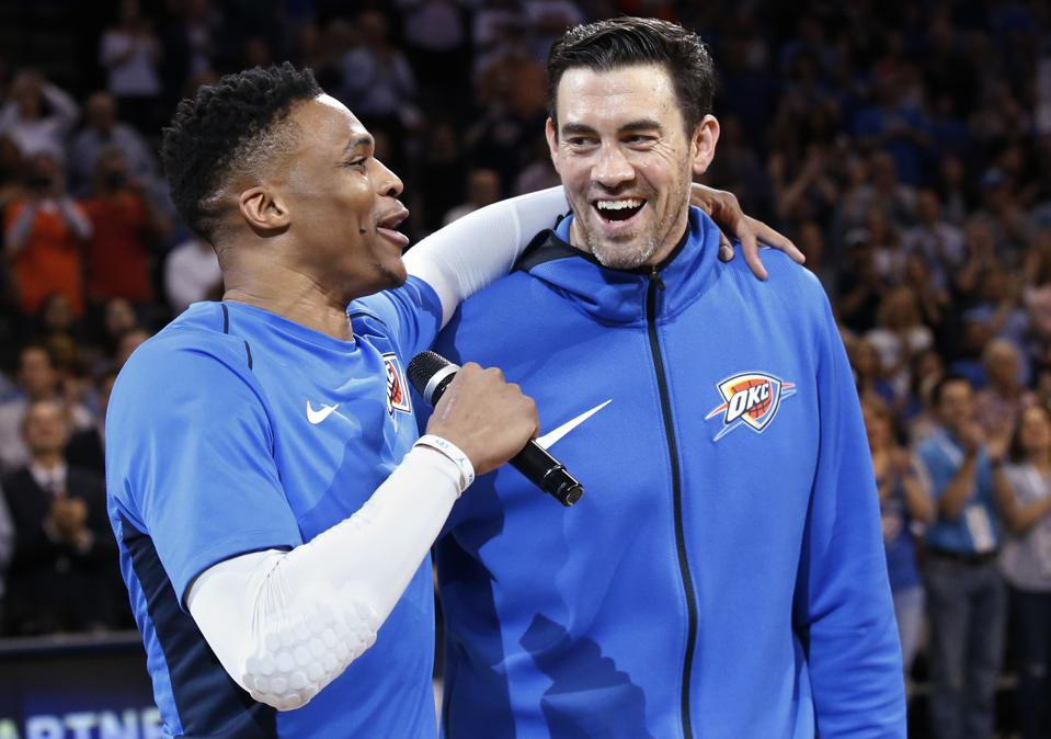 Thunder Legend Nick Collison Speaks On The Oklahoma City Thunder's Past, Present, And Future
