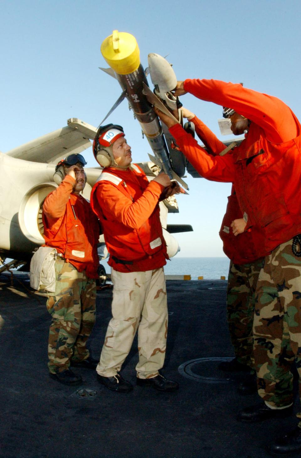 Operations Aboard USS Theodore Roosevelt
