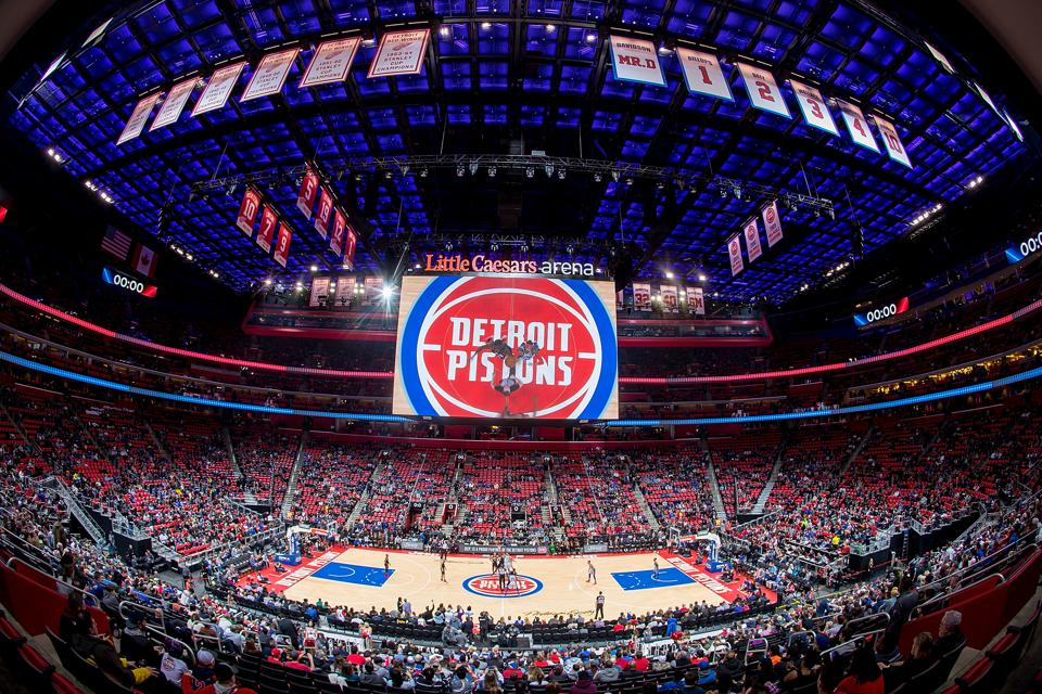 Houston Rockets v Detroit Pistons
