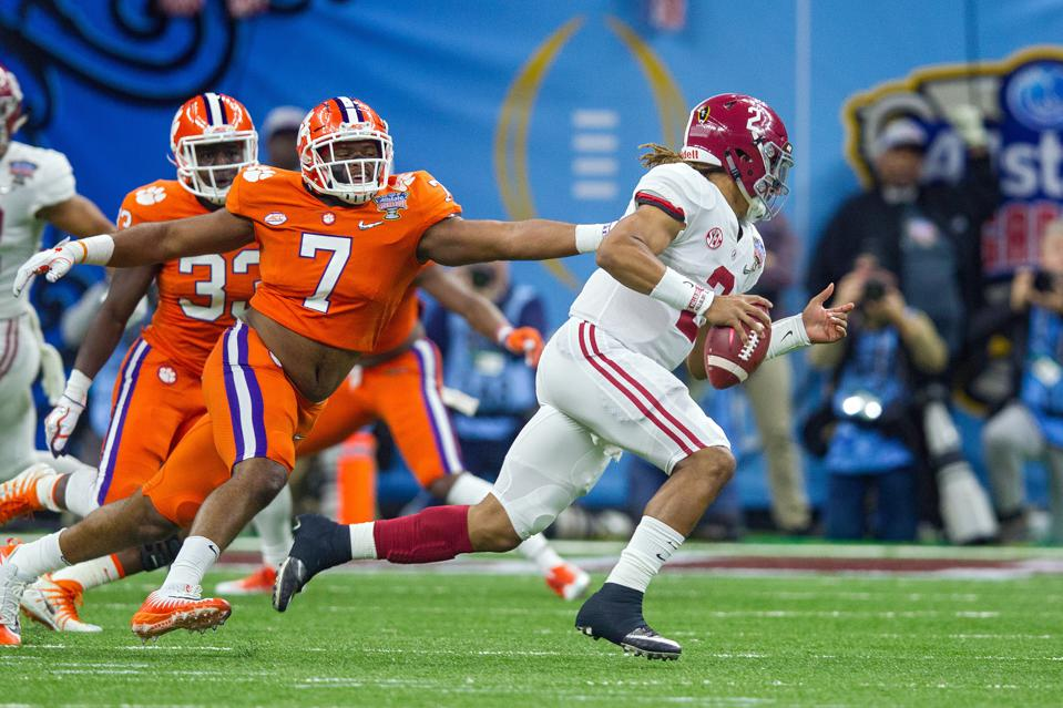 Alabama and Clemson face off for the fourth straight year in the College Football Playoff.