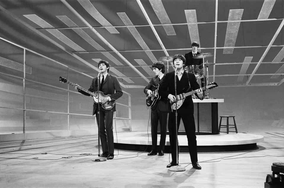 Beatles on the Ed Sullivan Show 1964