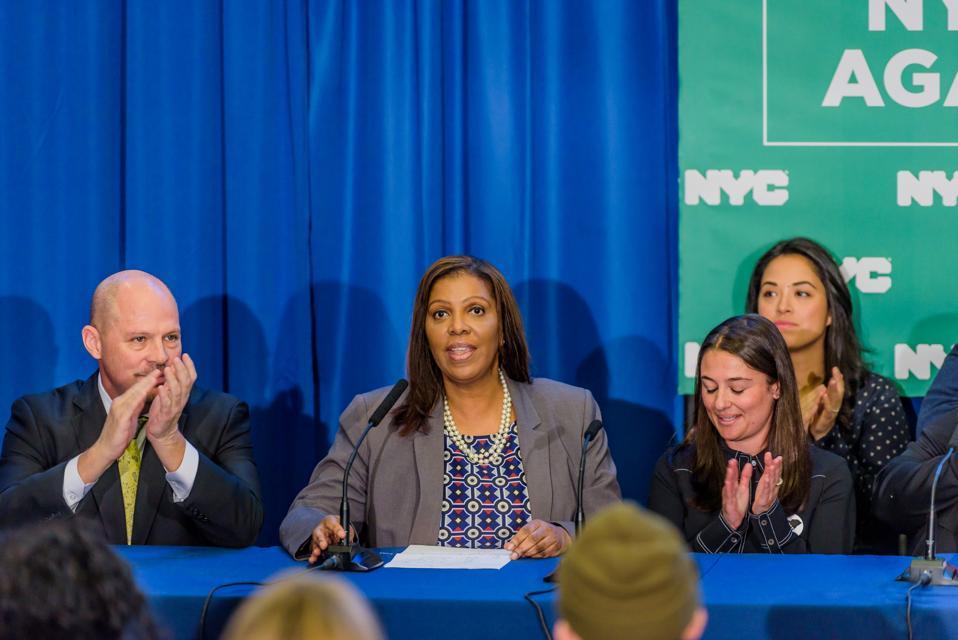 Tish James, NYC Public Advocate and NYCERS Trustee - Mayor...