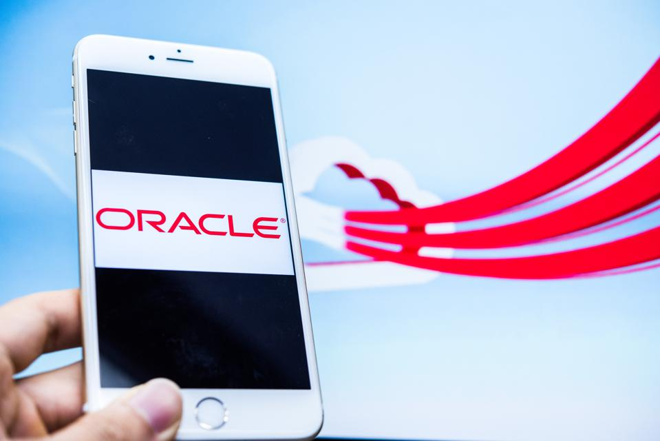 Oracle is one of several companies competing in the cloud computing sector.