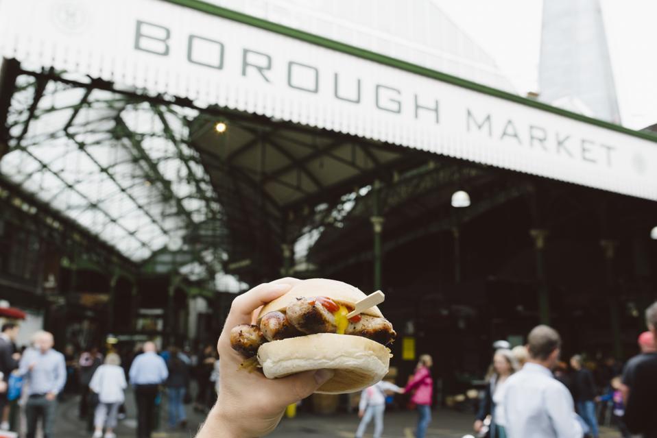 Borough Market - street food