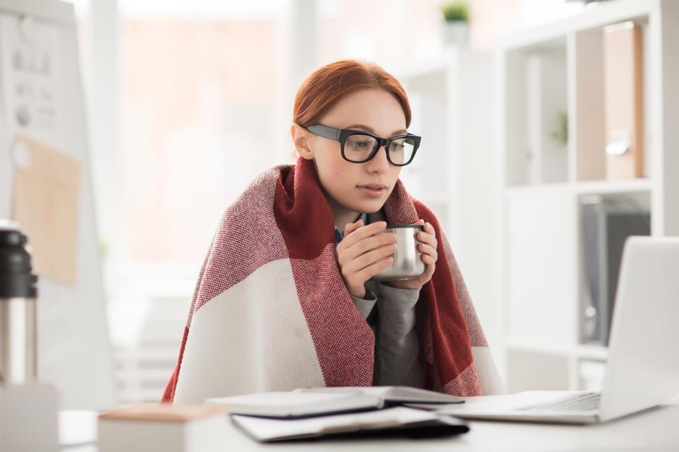 Winter in office