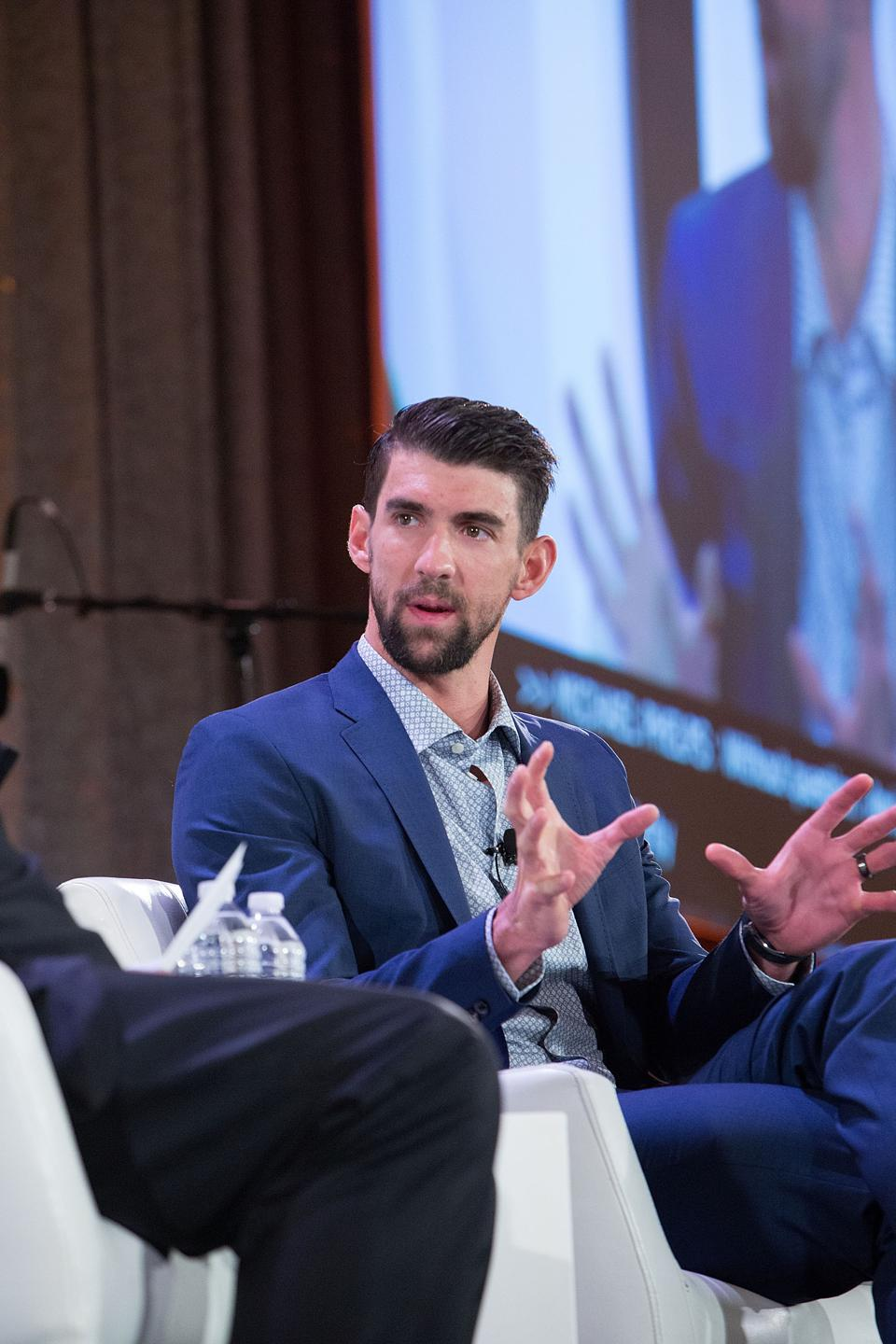 The Kennedy Forum Hosts National Summit On Mental Health Equity And Justice In Chicago With Michael Phelps And David Axelrod
