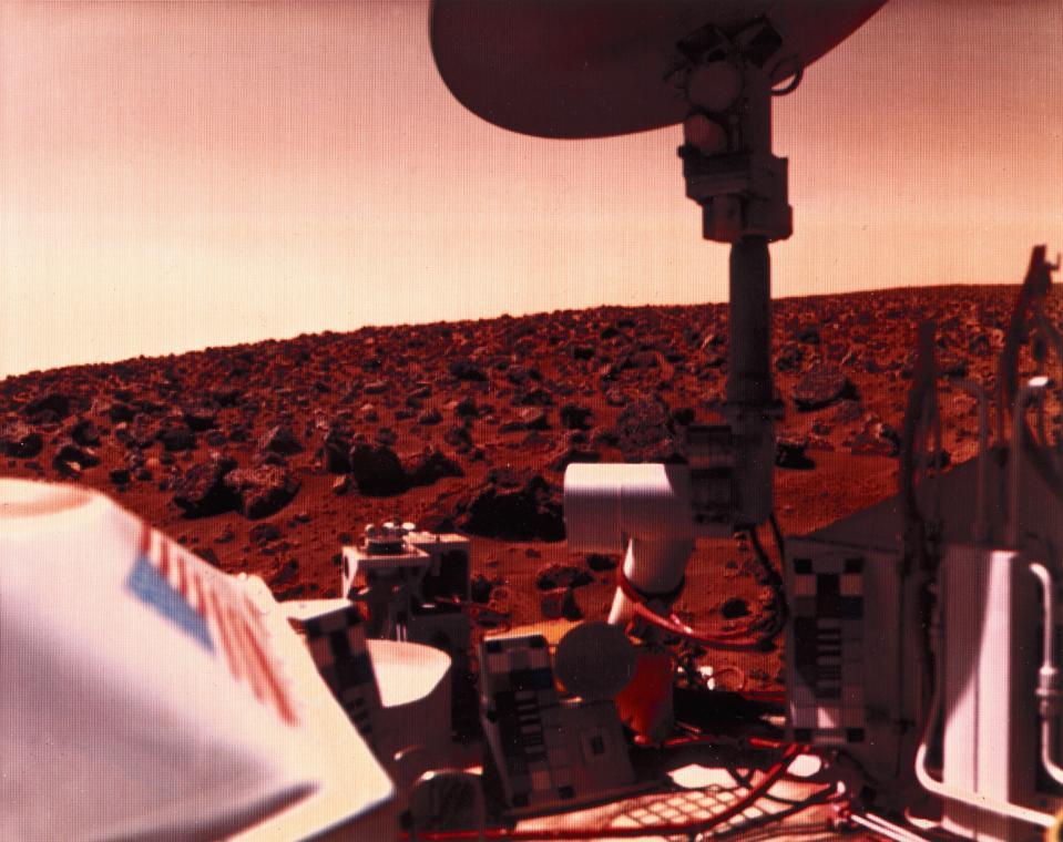 Viking 2 on Mars, 1976.