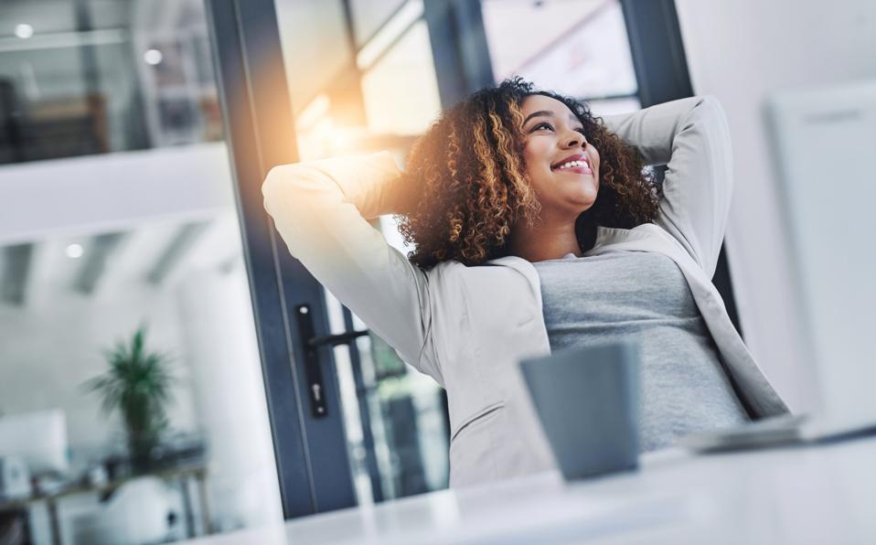 Soaking in the gratifying feeling of accomplishment employee self fulfillment