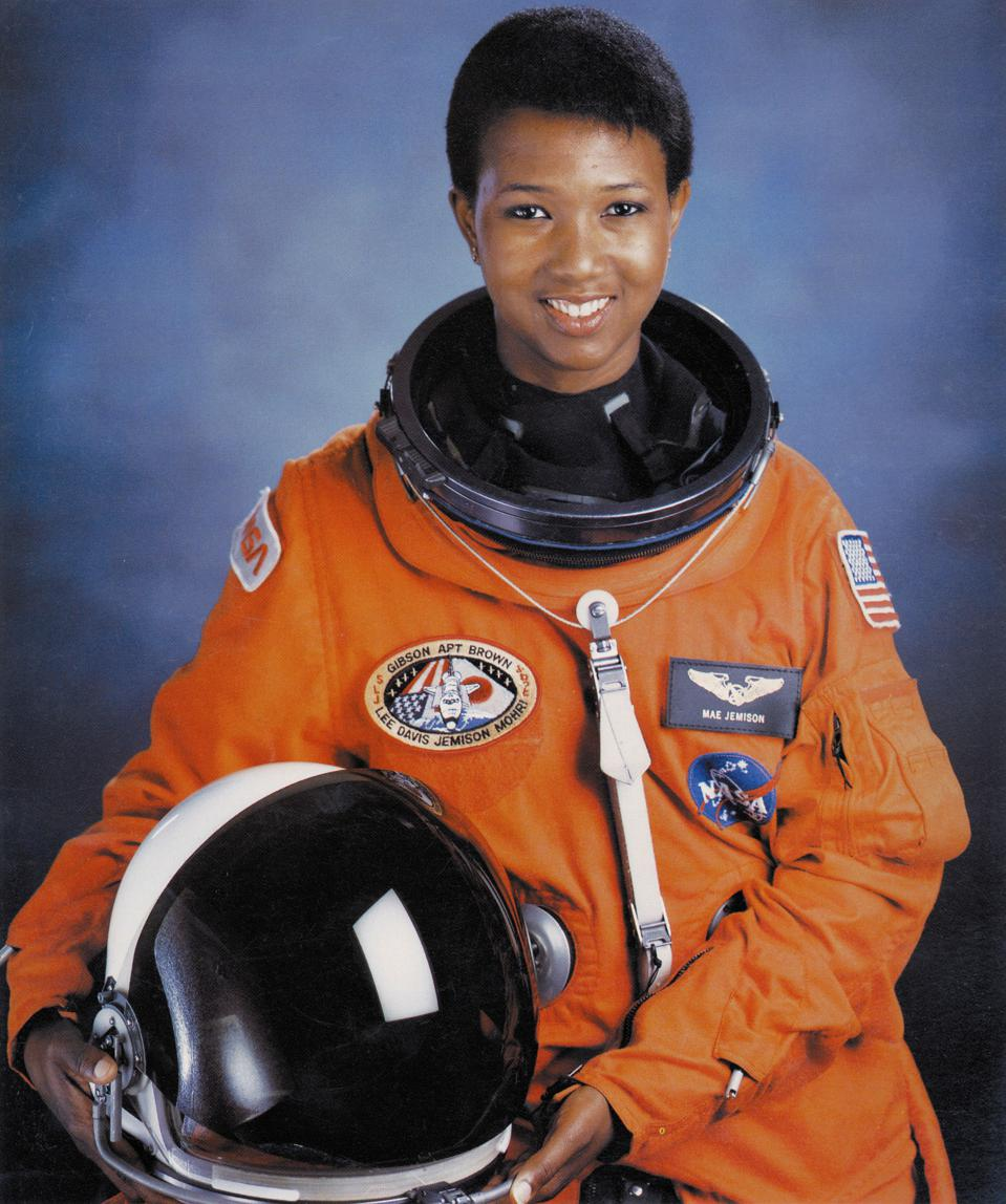 Dr Mae C Jemison, was the first woman of color in space