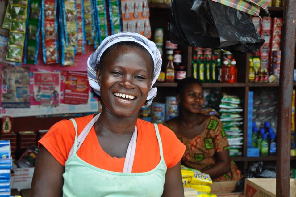 Female Vendors At Store