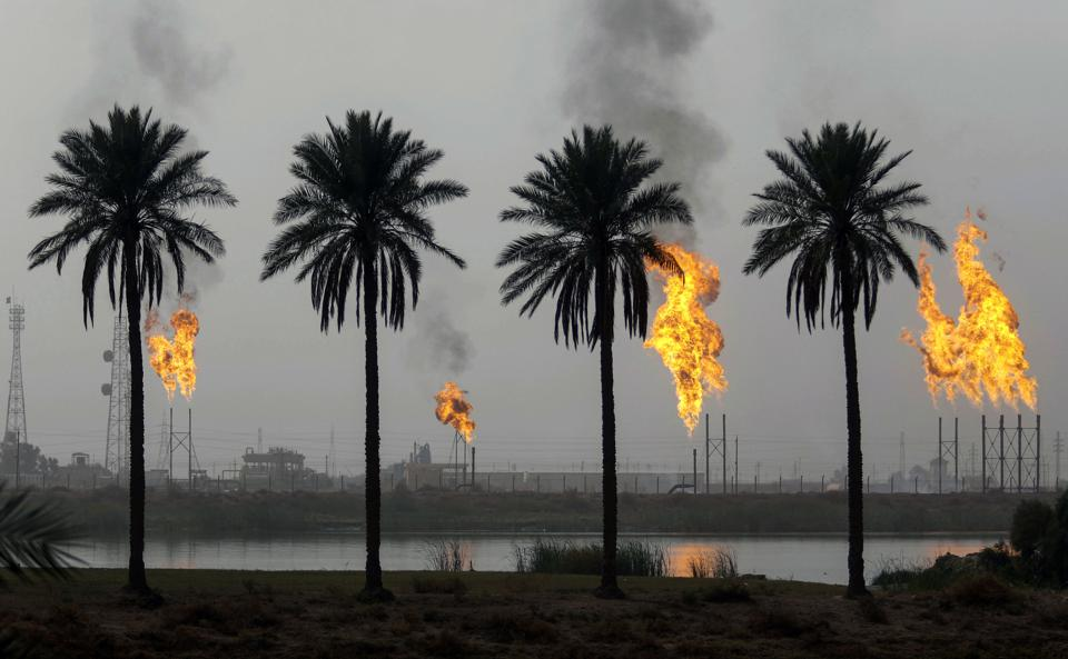 TOPSHOT-IRAQ-ENERGY-GAS