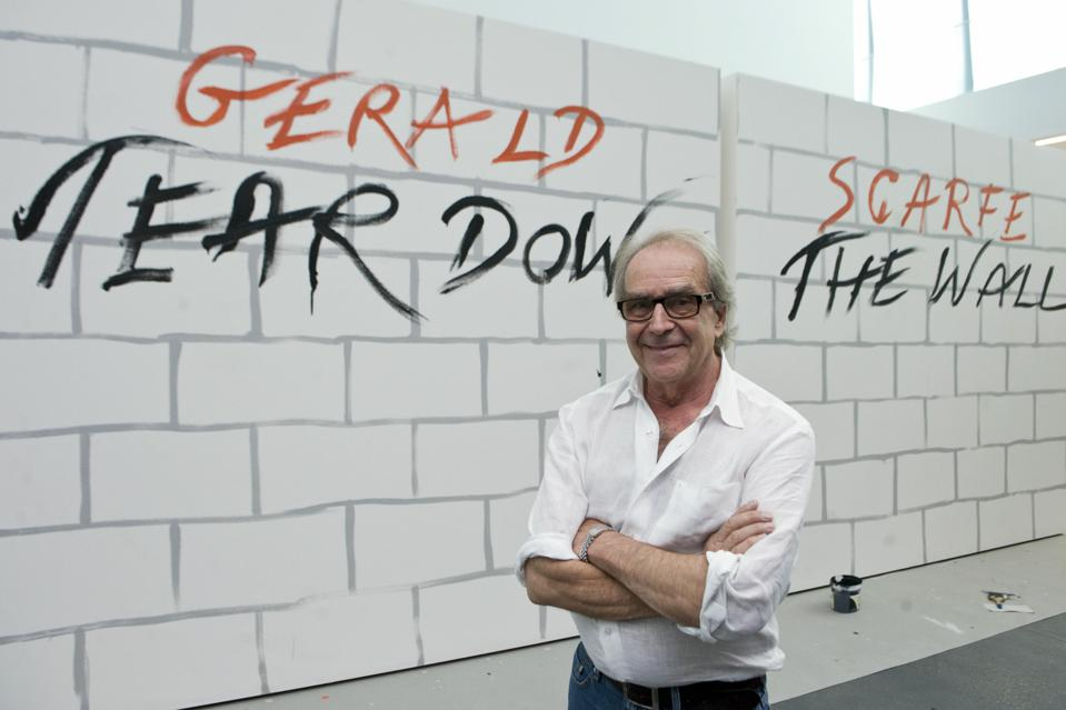 Q&A: Going Behind Pink Floyd's 'The Wall' With Artist Gerald Scarfe