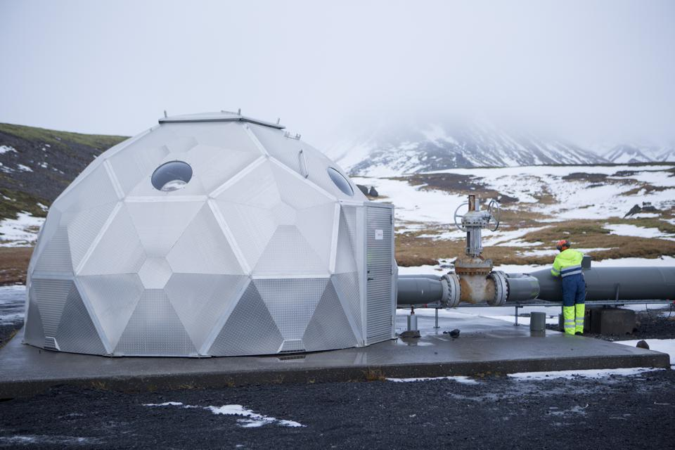 Iceland, known for its green energy, is working toward carbon neutrality.