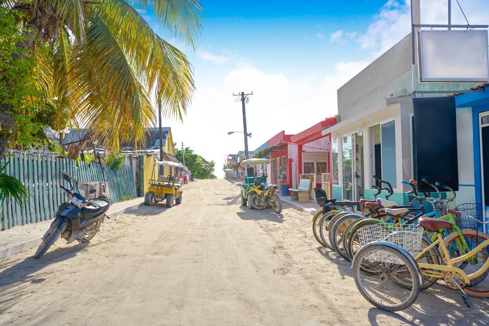 Holbox tropical Island in Quintana Roo Mexico