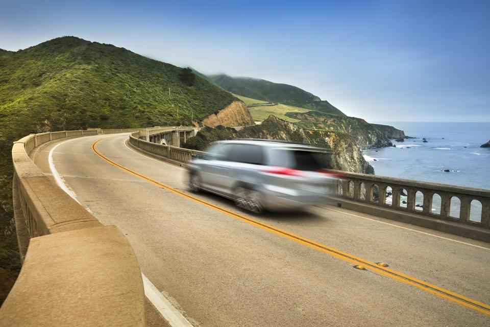 Bixby Bridge road trip, Big Sur, California, USA