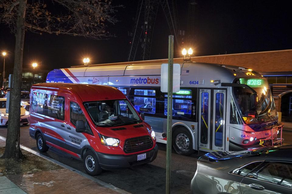 Cities and Transit Agencies Are Experimenting With So Called Microtransit Cervices -- On-demand, Shared,  FLexible Transportation Routes
