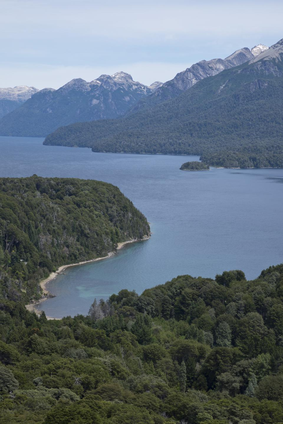 Nahuel Huapi in Bariloche, Argentina, whihc is south of the path of totality in 2020, and a good place to be based. (Photo by: Majority World/Universal Images Group via Getty Images)