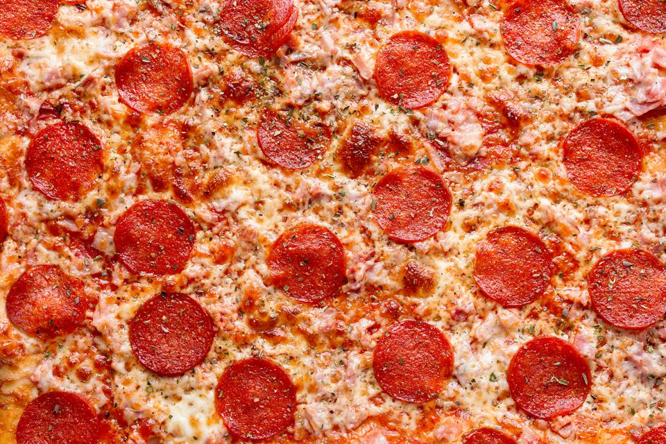 Eating pizza and other greasy foods might make CBD more effective.