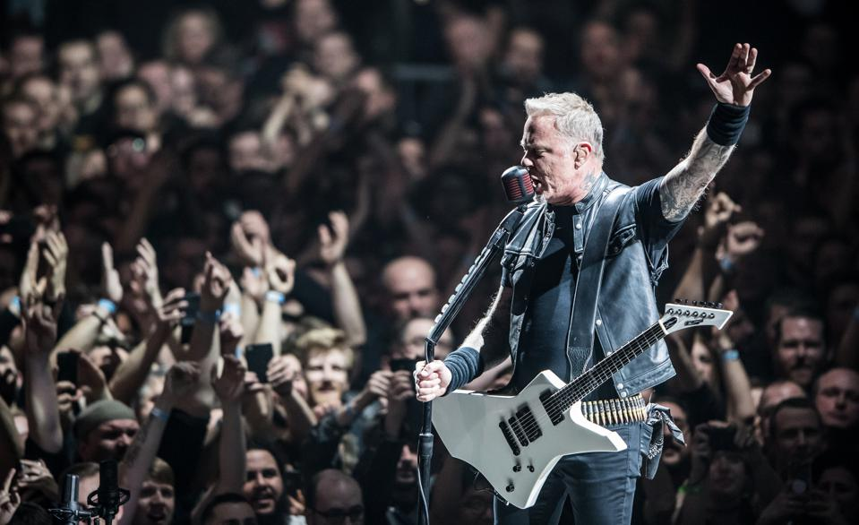 Metallica Perform In Mannheim